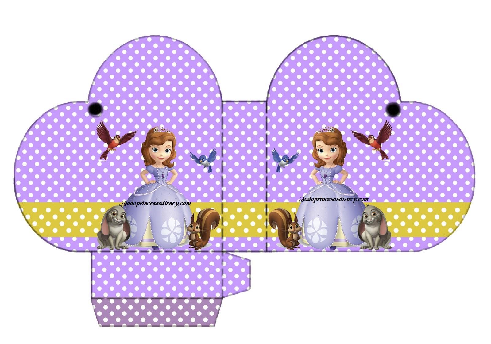 Molde's Para Imprimir De Princesa Sofia