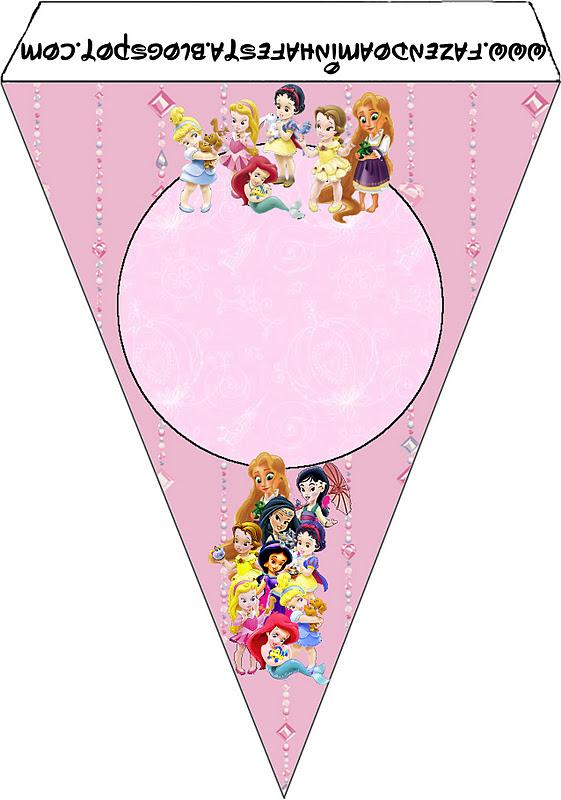 banderin de Princesas Babies
