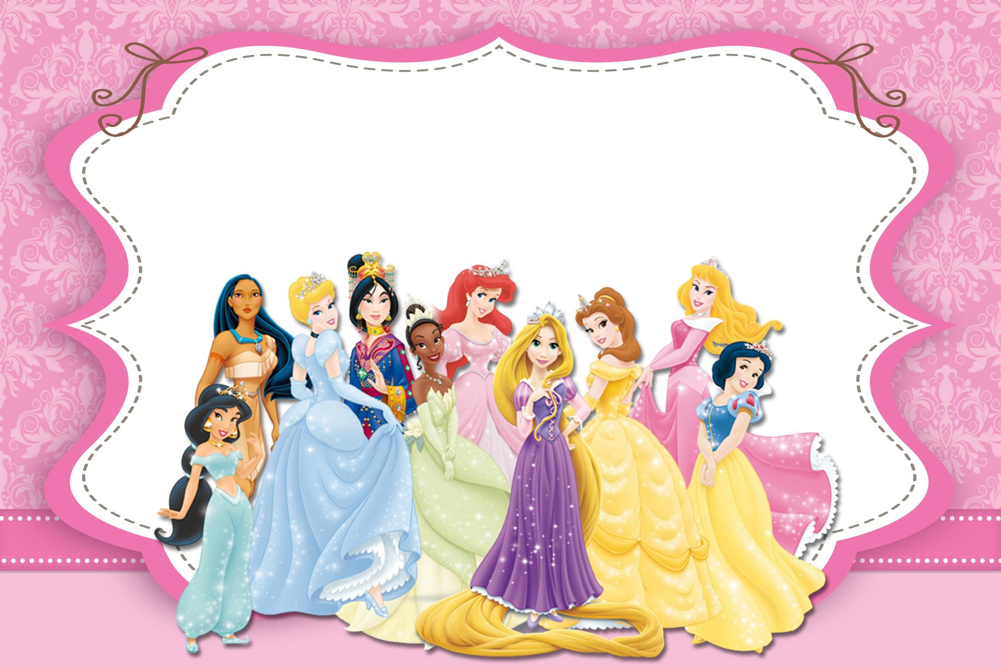 Marco De Princesas Disney Princesas Disney