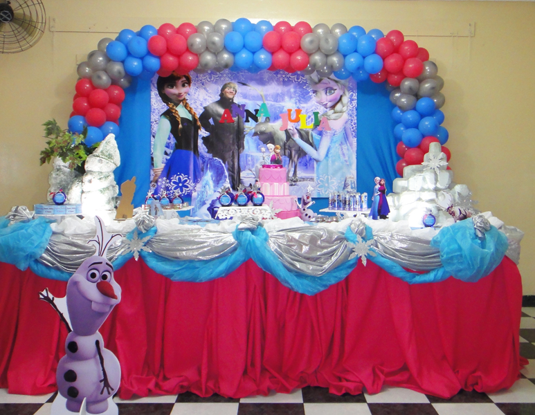Ideas para decoraci n de cumplea os frozen princesas disney - Ideas decoracion cumpleanos ...