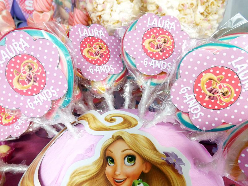 Ideas para fiesta tem tica de rapunzel princesas disney - Decoracion cumpleanos princesas ...