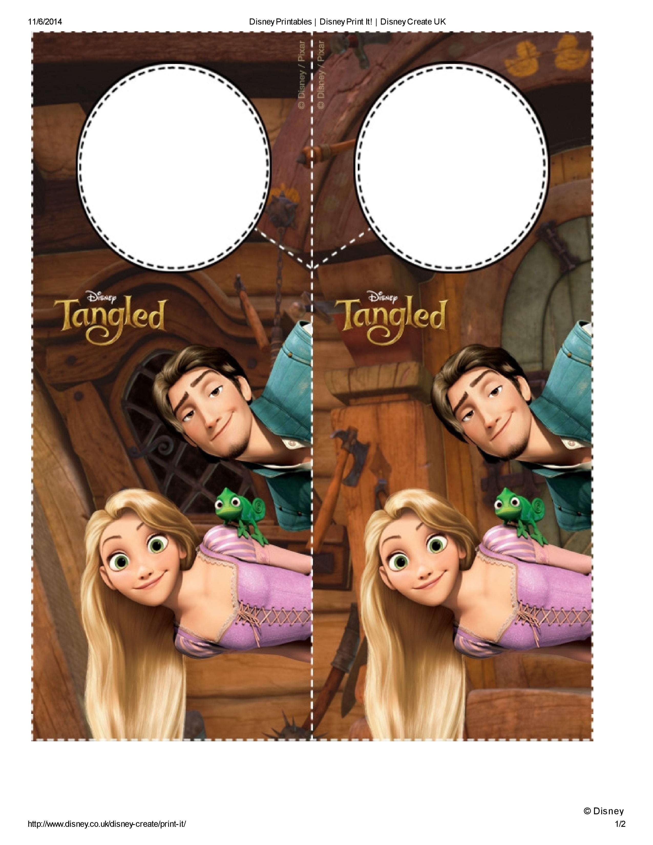 Colgadores De Picaporte Rapunzel Para Imprimir Gratis Princesas