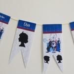 Banderines de Frozen para descarga gratuita