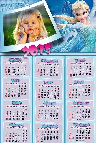 hacer calendarios con foto: