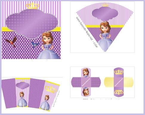 Kit de Princesa Sofía ffesta