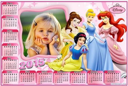 calendario 2015 prinesas
