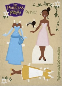 Paper Dolls Tiana