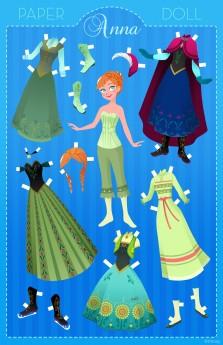 Paper Doll Anna