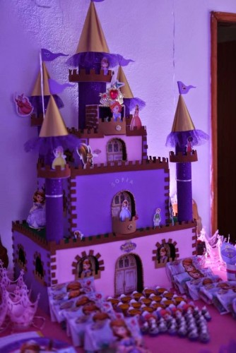 Ideas para decoración de fiesta Princesa Sofía | Princesas Disney