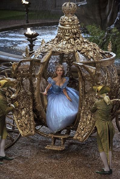 Carruaje de Cinderella 2015