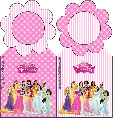 Marcadores de Página de Princesas Disney