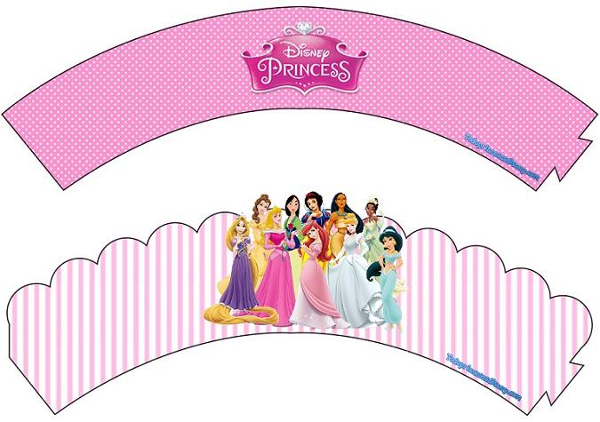 Wrappers adornos de Princesas Disney