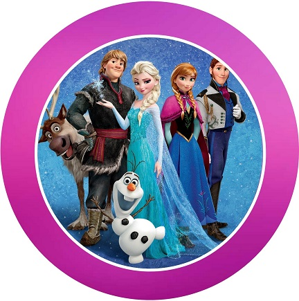 Etiquetas de Frozen - Stickers Frozen - Decoración Frozen