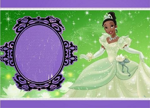 Princesa Tiana Imprimibles para cumpleaños - Fiesta Princesa Tiana -Kits de La princesa y el Sapo para descargar gratis
