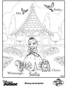 Best Dibujos Para Colorear De La Princesa Sofia Para Imprimir Image