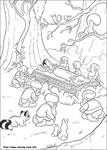 Dibujos de blancanieves para colorear - dibujos blancanieves y enanitos para colorear - imagenes de blancanieves para pintar - imagenes blancanieves para colorear - pintar a blancanieves y los enanitos - dibujos Blancanieves y principe - imprimibles blancanieves