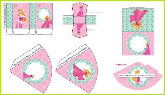 Kit de Princesa Aurora gratis | Princesas Disney