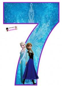 decoracion de Frozen