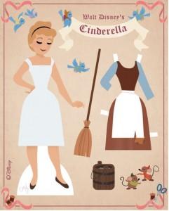 Cinderella paperdolls