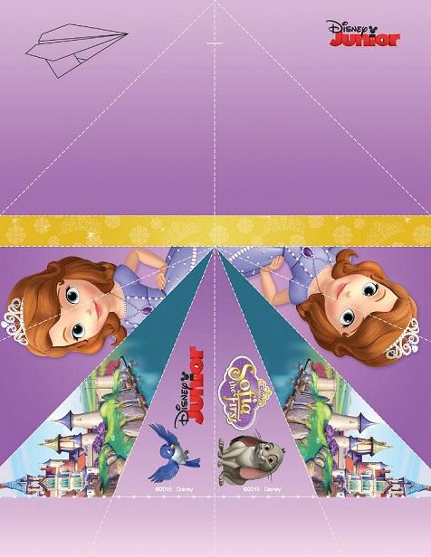 Imprimibles de Sofia Disney