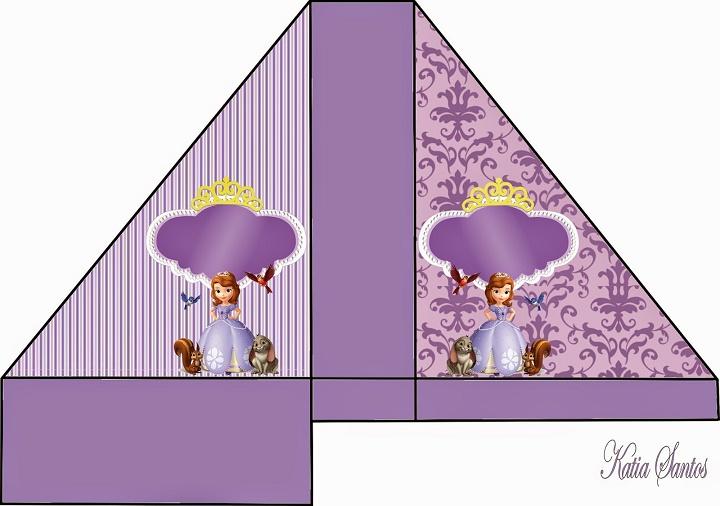 Servilletero de Princesa Sofía - adornos de Princesa Sofia - Ideas para decoración de Princesa Sofía Disney