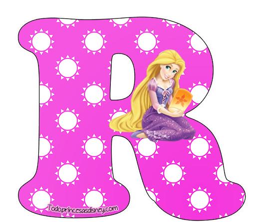 Enredados Letras para imprimir | Princesas Disney